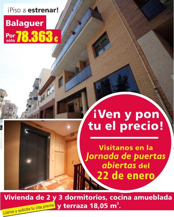 Oportunidad Pisos Balaguer CCI
