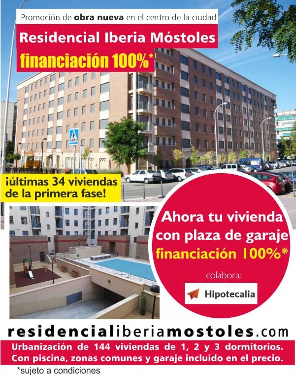 Financiación Residencial 100% Iberia Móstoles