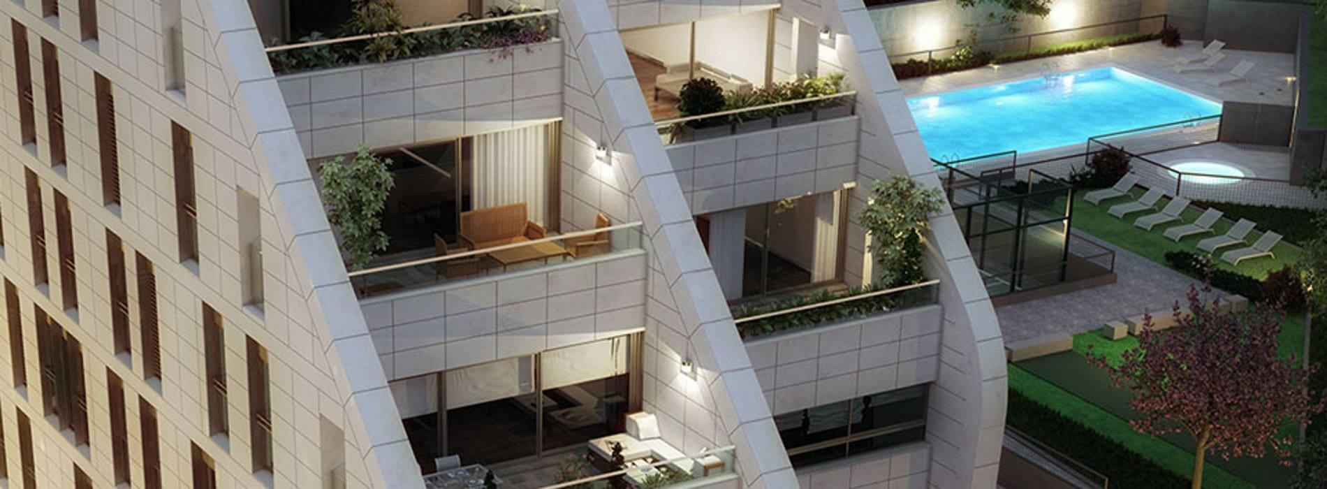 Obra nueva centro comercial inmobiliario for Pisos obra nueva granada