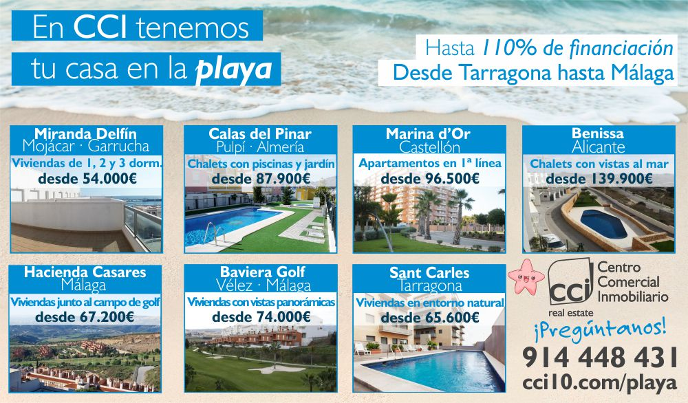 Financiación Residencial 110% Playa 2016