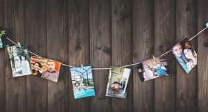 Formas originales de colocar tus fotos en casa