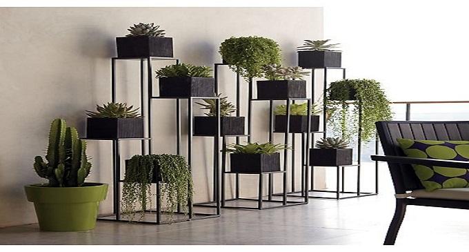 5 tipos de plantas perfectas para el interior de tu - Soportes para macetas de interior ...