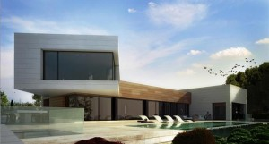 Edificio de las mejores zonas residenciales de Madrid