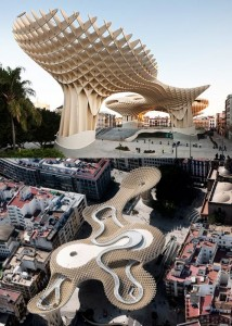 Arquitectura moderna. Metropol Parasol