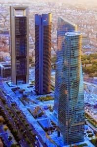 Cuatro Torres Bussines Área, Madrid