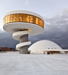 Arquitectura Modernista. Centro Cultural Internacional Oscar Niemeyer, Avilés