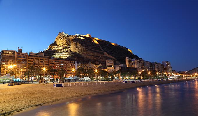 Alicante es un destino turístico muy conocido en período vacacional