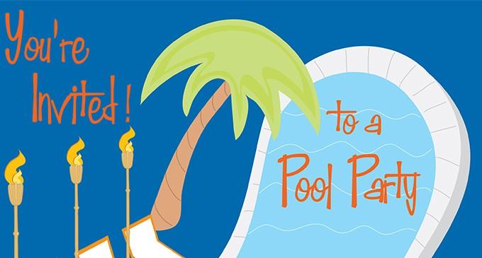 Este mes de agosto triunfa con la decoración de tu fiesta en la piscina