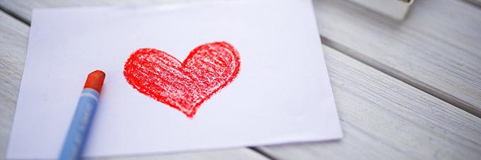 Decoración Romántica para San Valentín: tarjetas