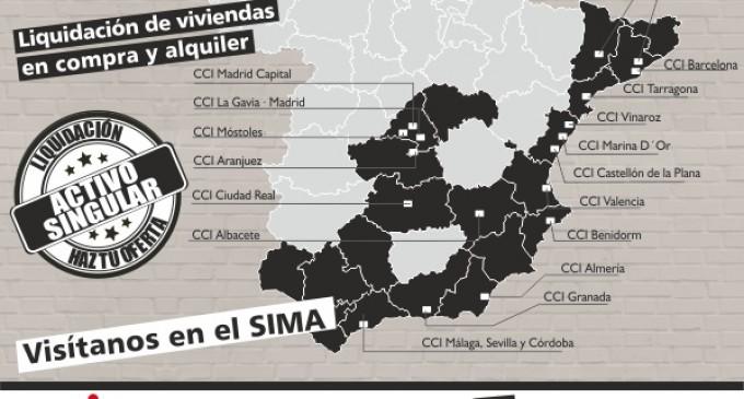 Centro Comercial Inmobiliario estará en el SIMA Otoño 2018 con su amplia oferta de viviendas en Madrid y en la costa y con su nueva marca Activos Singulares.