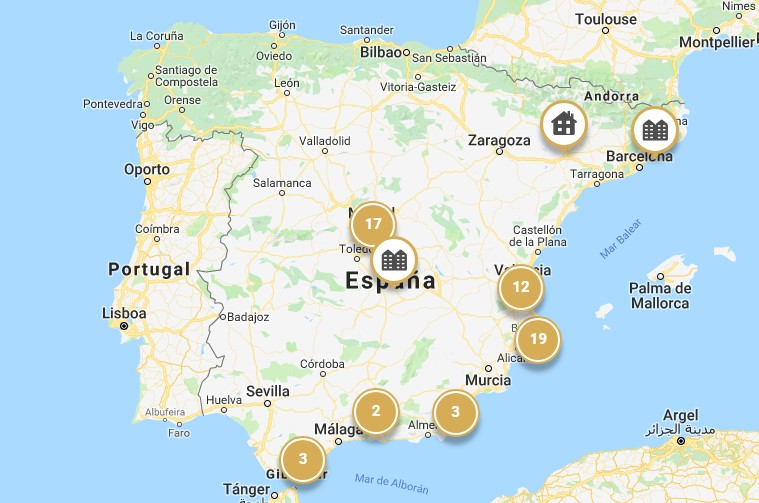 mapa viviendas premium cci