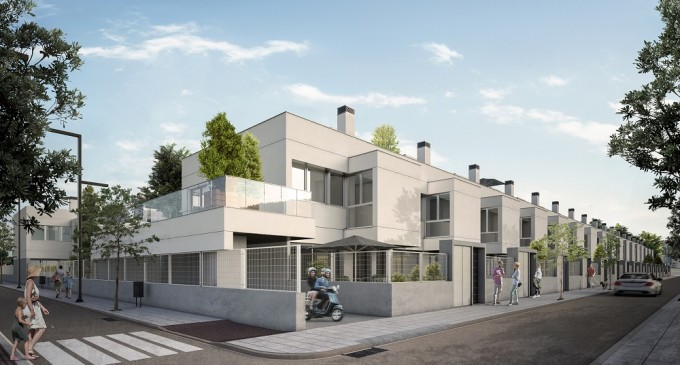Residencial East Village – Chalets de obra nueva en Móstoles