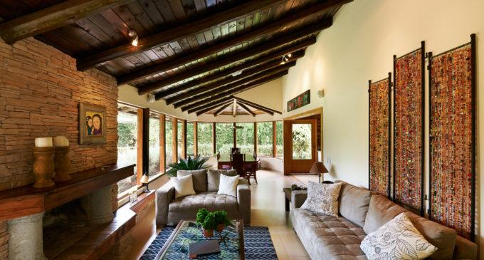 Decoración rústica de interiores
