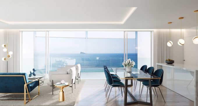 CCI vende exclusivo apartamento en Benidorm valorado en casi un millón de euros