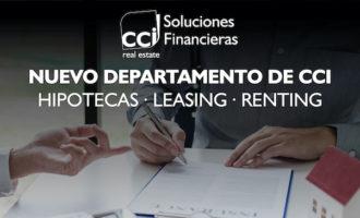 CCI Soluciones Financieras: Nuevo departamento de CCI